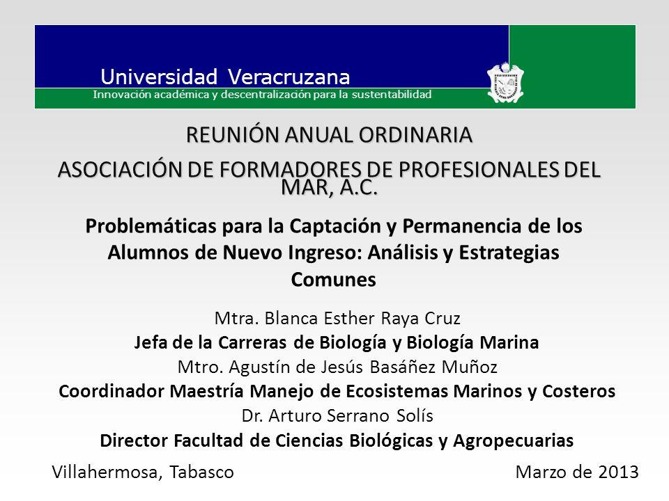 ASOCIACIÓN DE FORMADORES DE PROFESIONALES DEL MAR, A.C.
