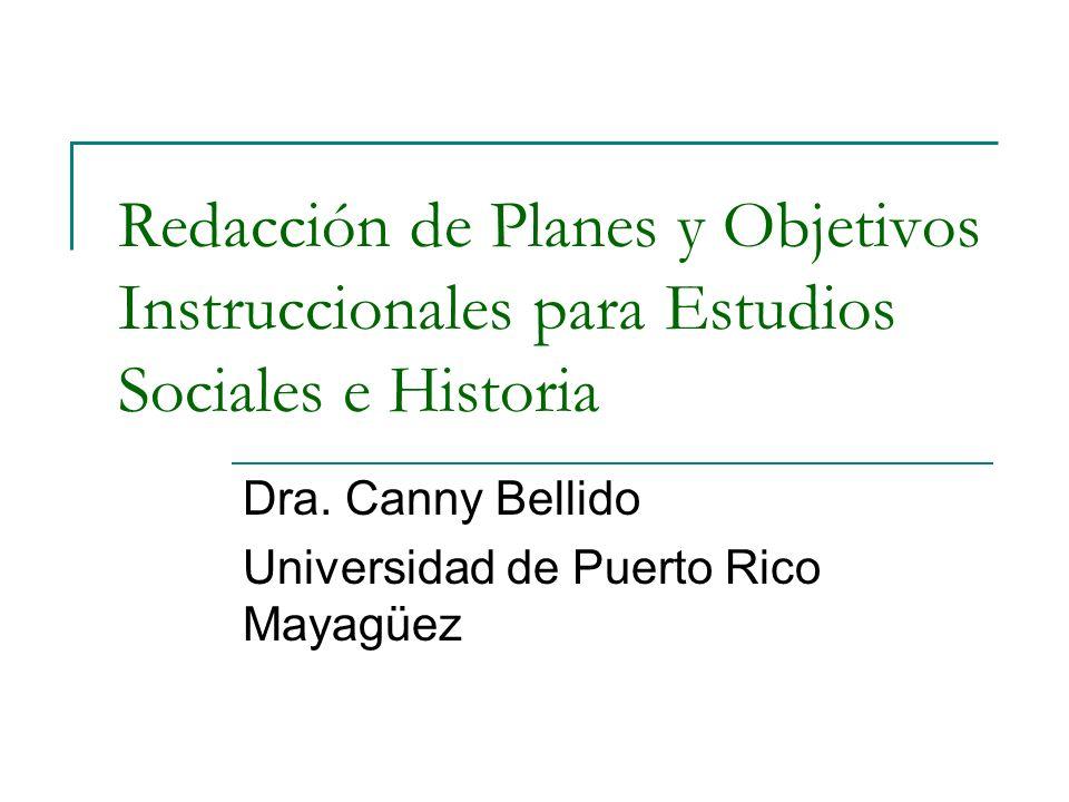 Dra. Canny Bellido Universidad de Puerto Rico Mayagüez