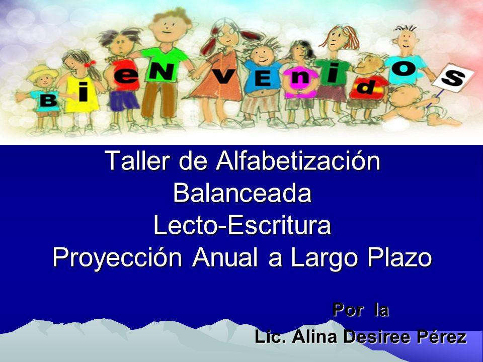 Por la Lic. Alina Desiree Pérez