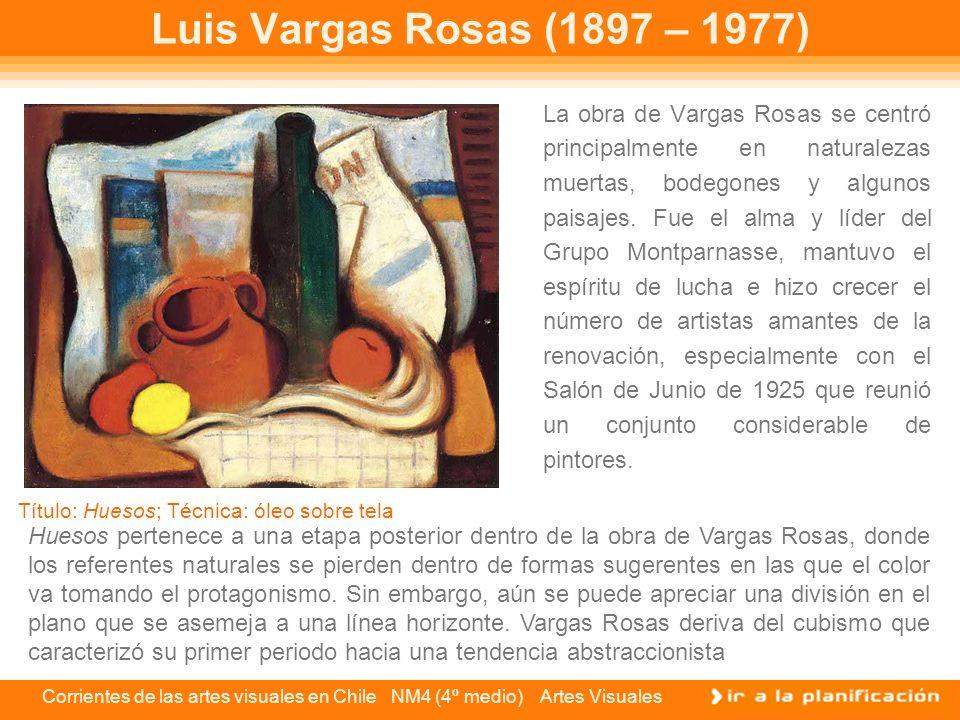 Luis Vargas Rosas (1897 – 1977)