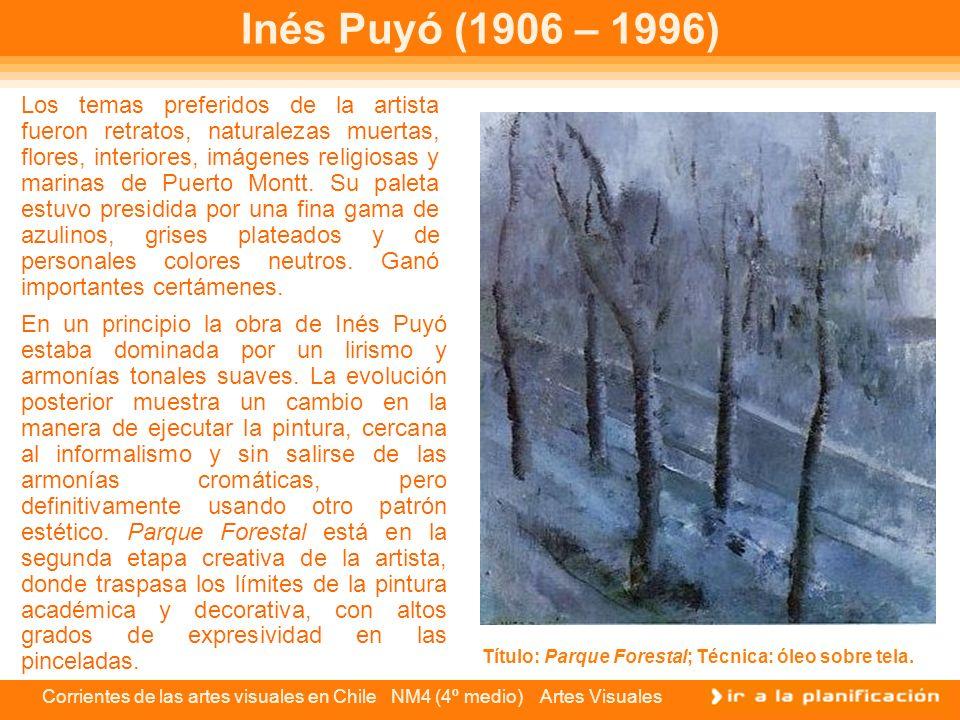 Inés Puyó (1906 – 1996)