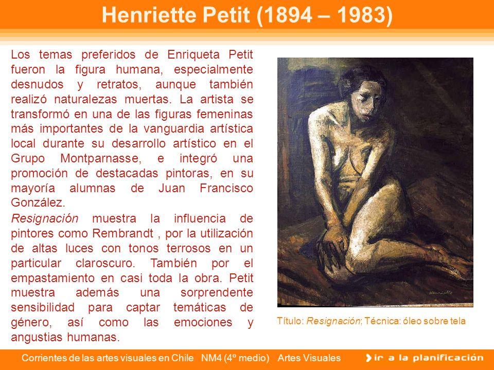 Henriette Petit (1894 – 1983)