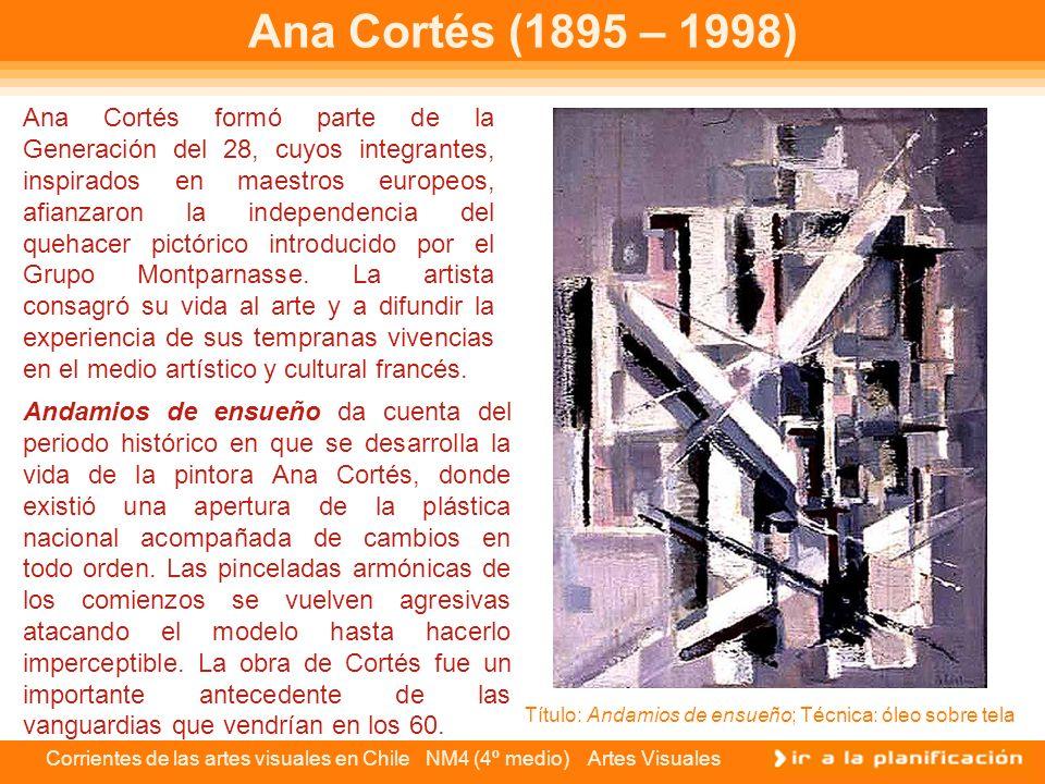 Ana Cortés (1895 – 1998)