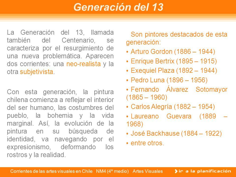 Generación del 13