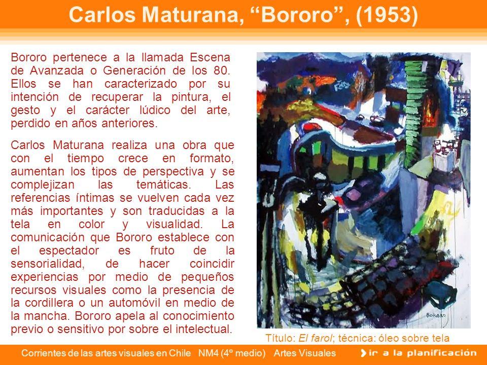 Carlos Maturana, Bororo , (1953)