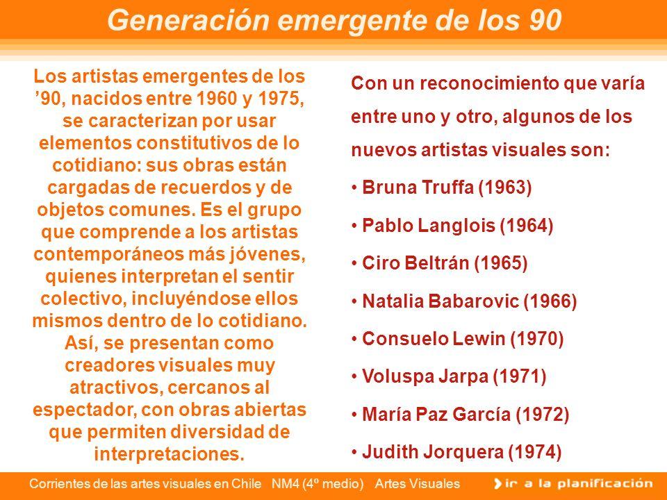 Generación emergente de los 90