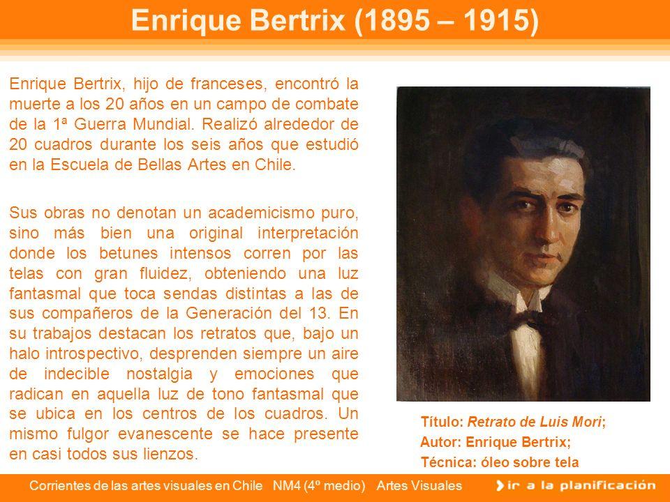 Enrique Bertrix (1895 – 1915)