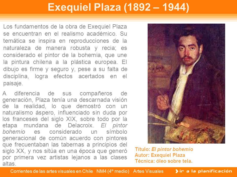 Exequiel Plaza (1892 – 1944)