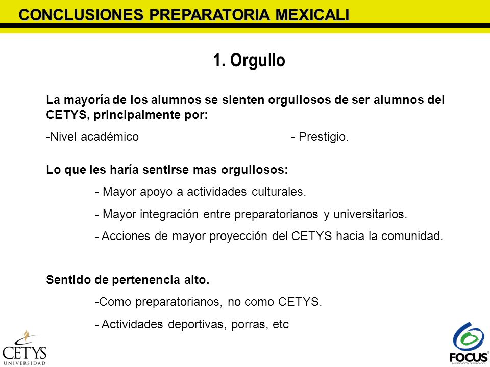 1. Orgullo CONCLUSIONES PREPARATORIA MEXICALI