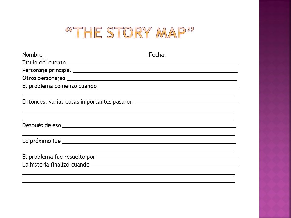 The Story Map