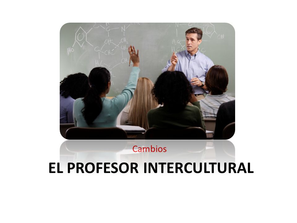 El Profesor intercultural