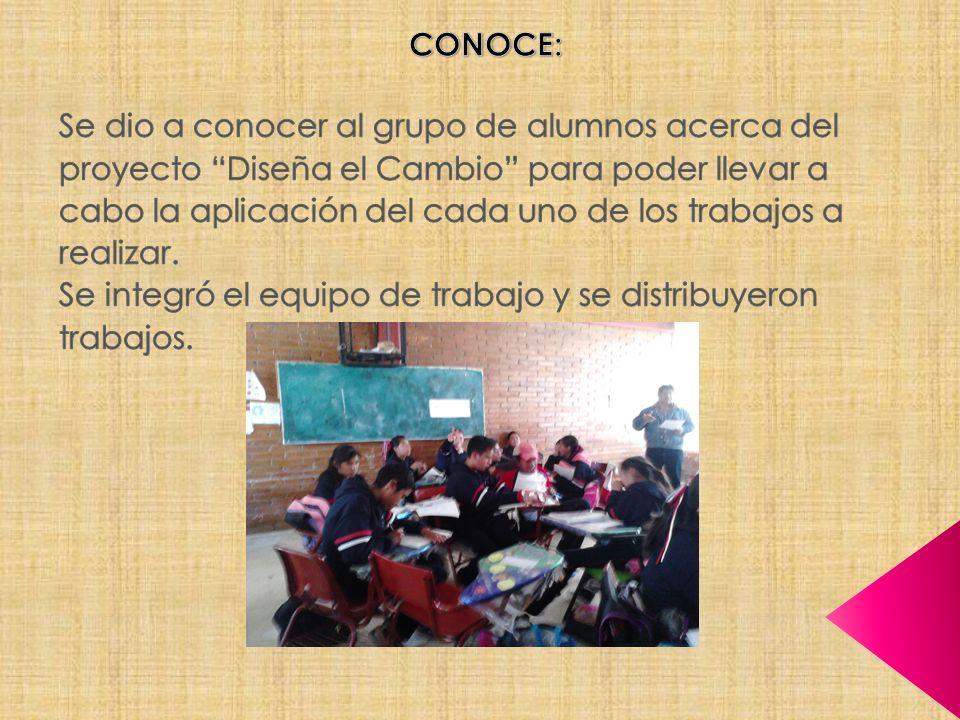 CONOCE: