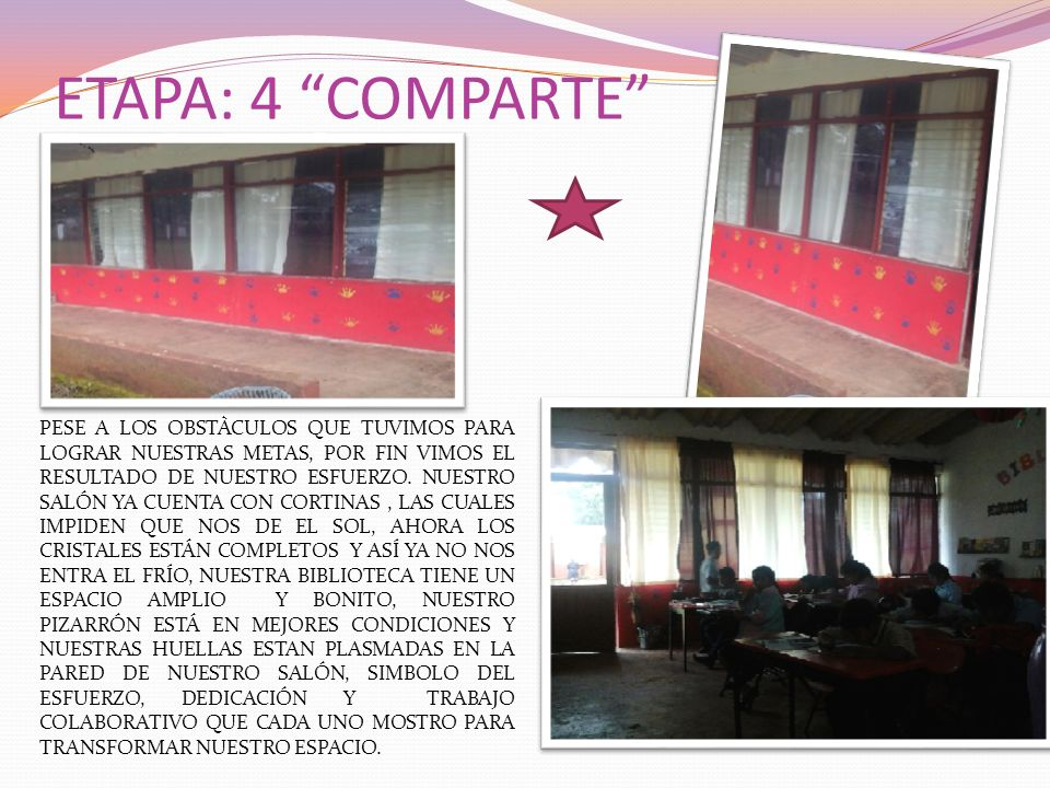 ETAPA: 4 COMPARTE