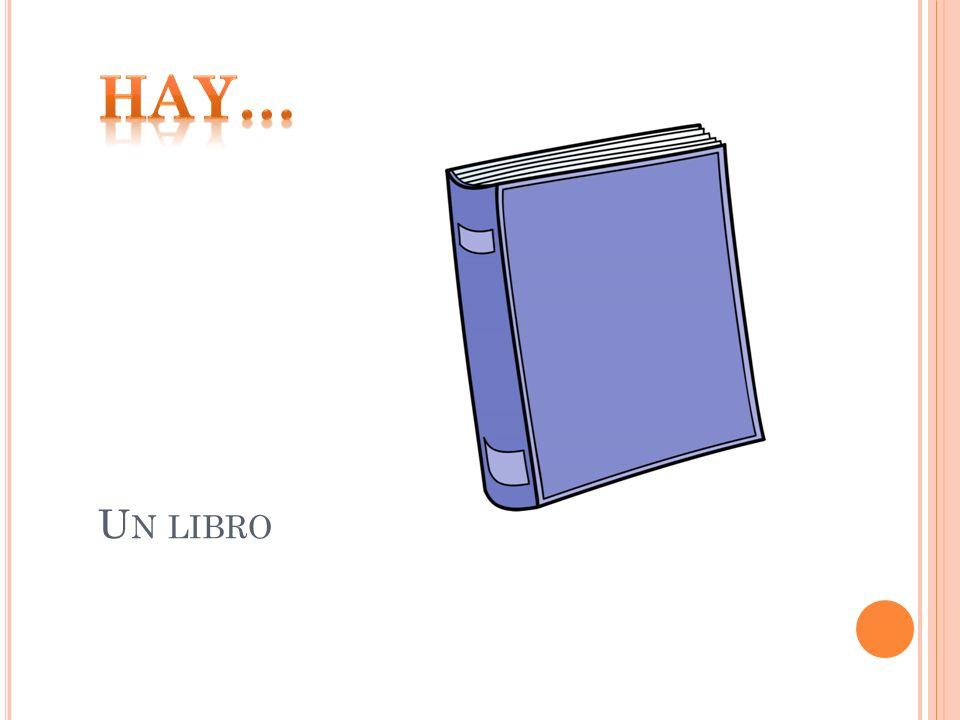 Hay… Un libro