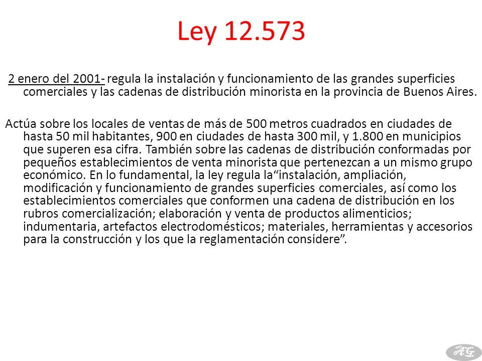 Ley 12.573