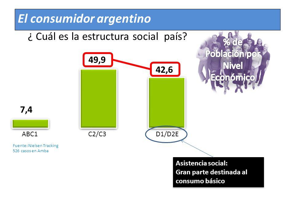¿ Cuál es la estructura social país
