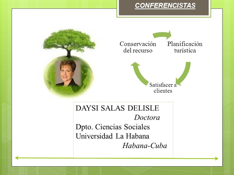 Dpto. Ciencias Sociales Universidad La Habana Habana-Cuba