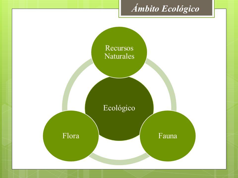 Ámbito Ecológico Ecológico Recursos Naturales Fauna Flora