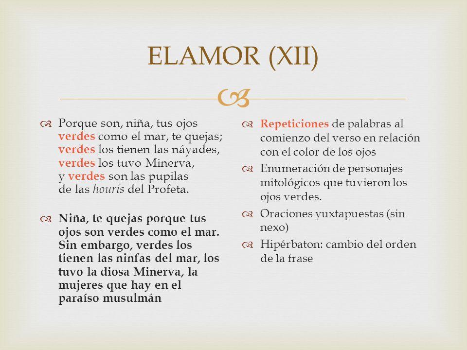 ELAMOR (XII)