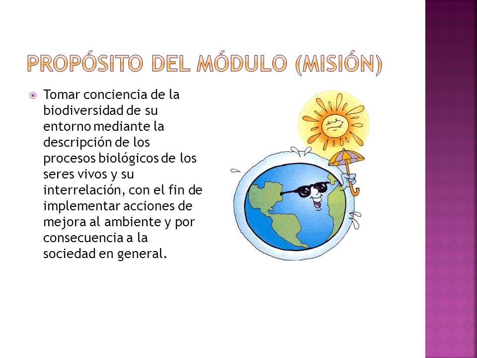 PROPÓSITO DEL MÓDULO (MISIÓN)