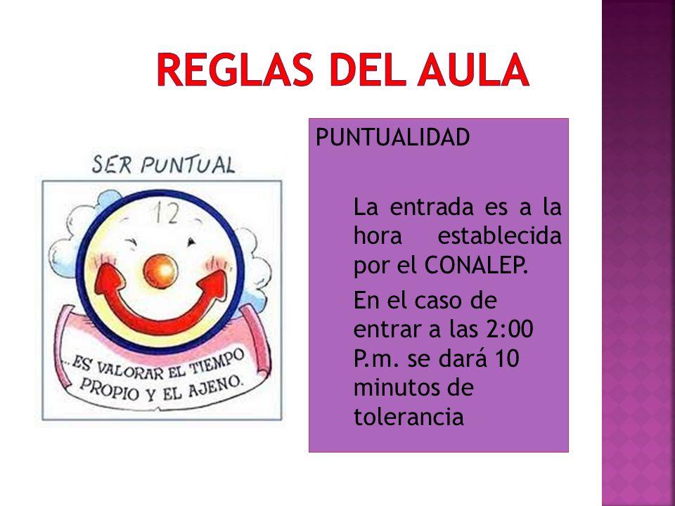 REGLAS DEL AULA