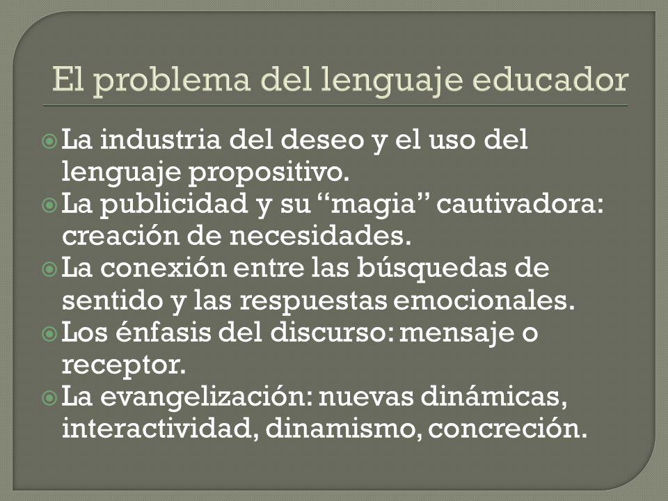 El problema del lenguaje educador