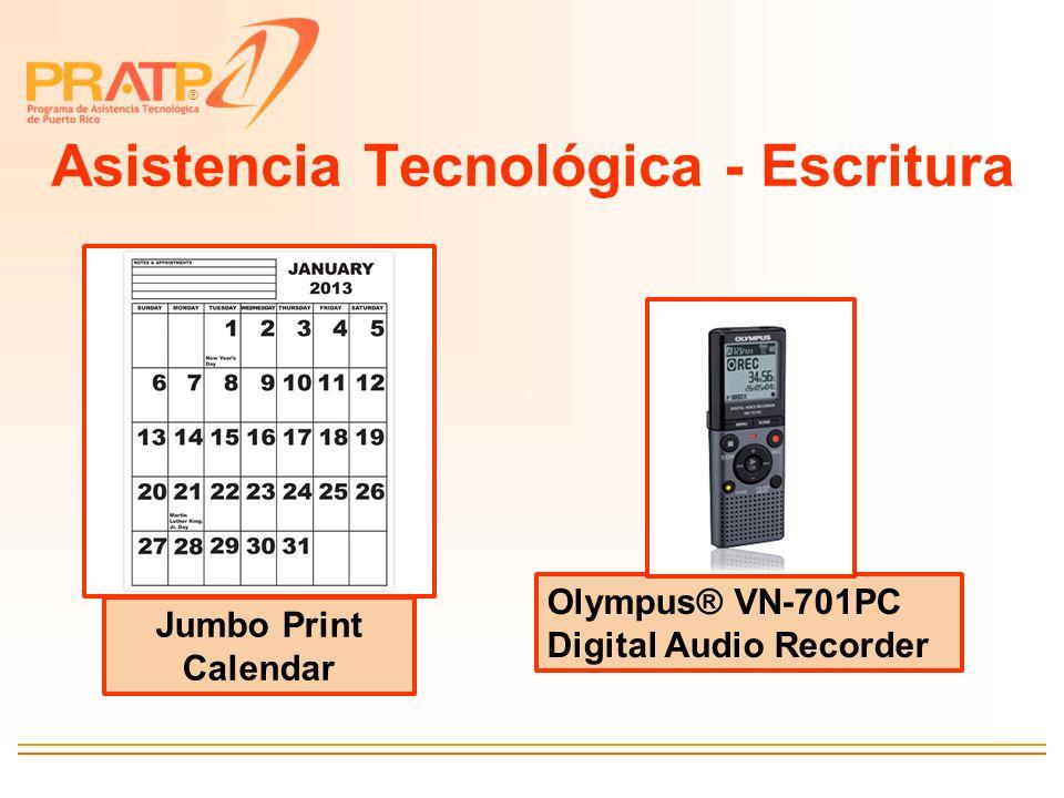 Asistencia Tecnológica - Escritura