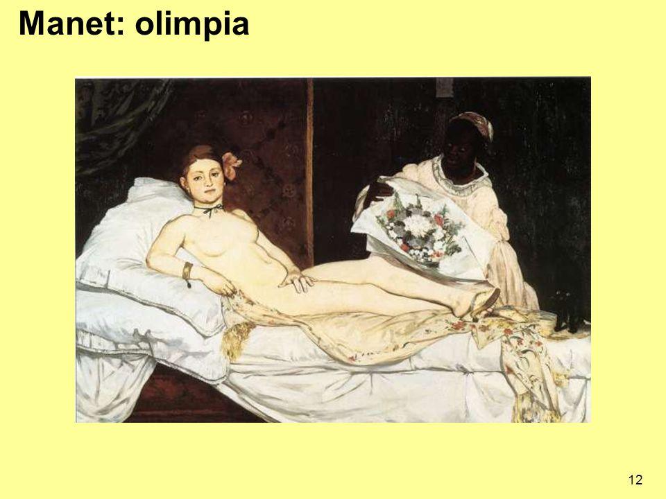 Manet: olimpia