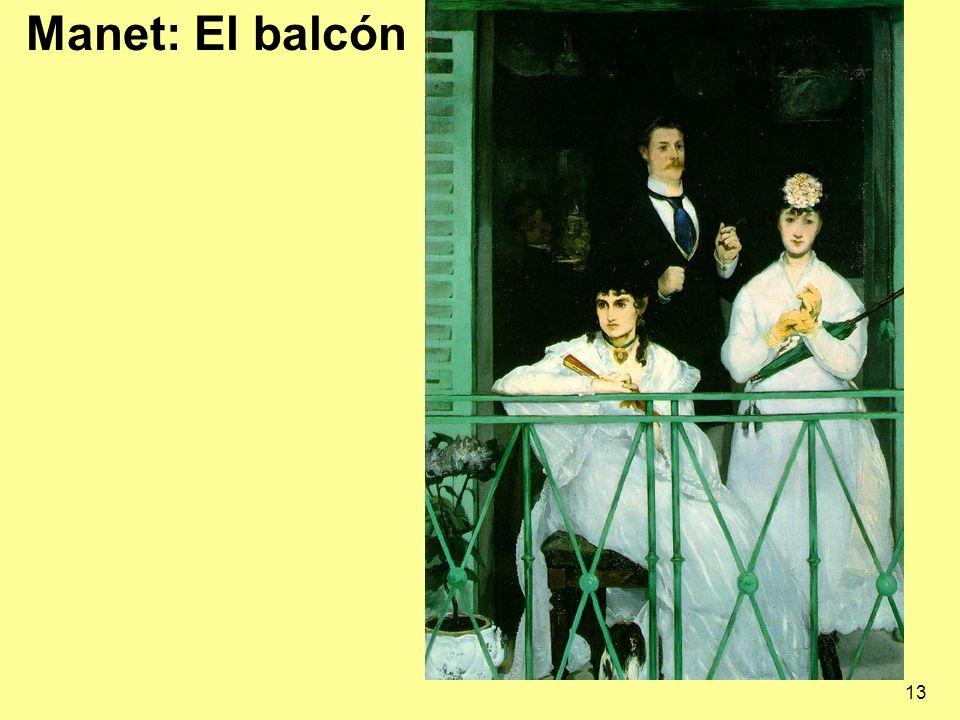 Manet: El balcón