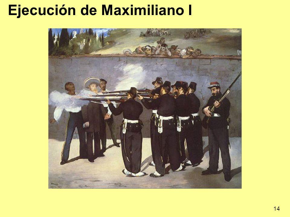 Ejecución de Maximiliano I