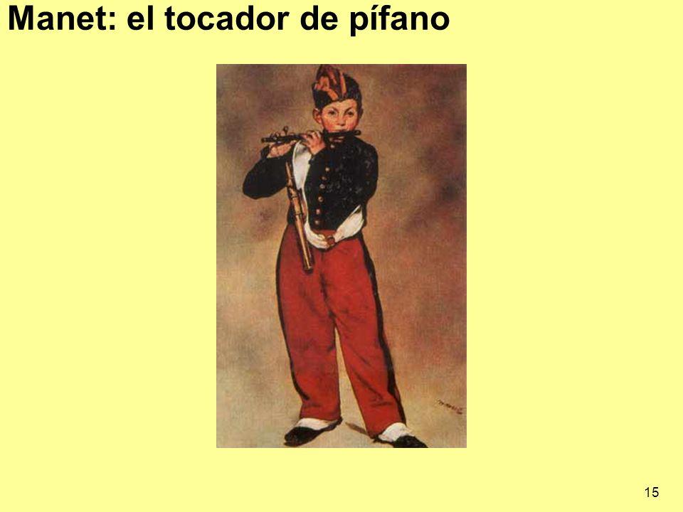 Manet: el tocador de pífano