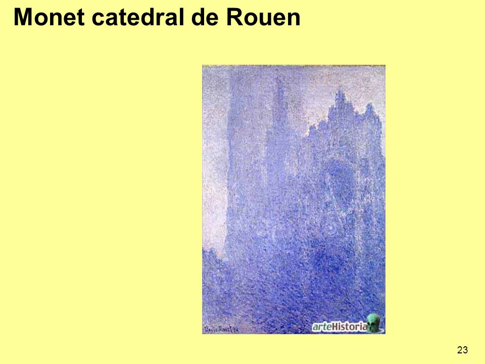Monet catedral de Rouen
