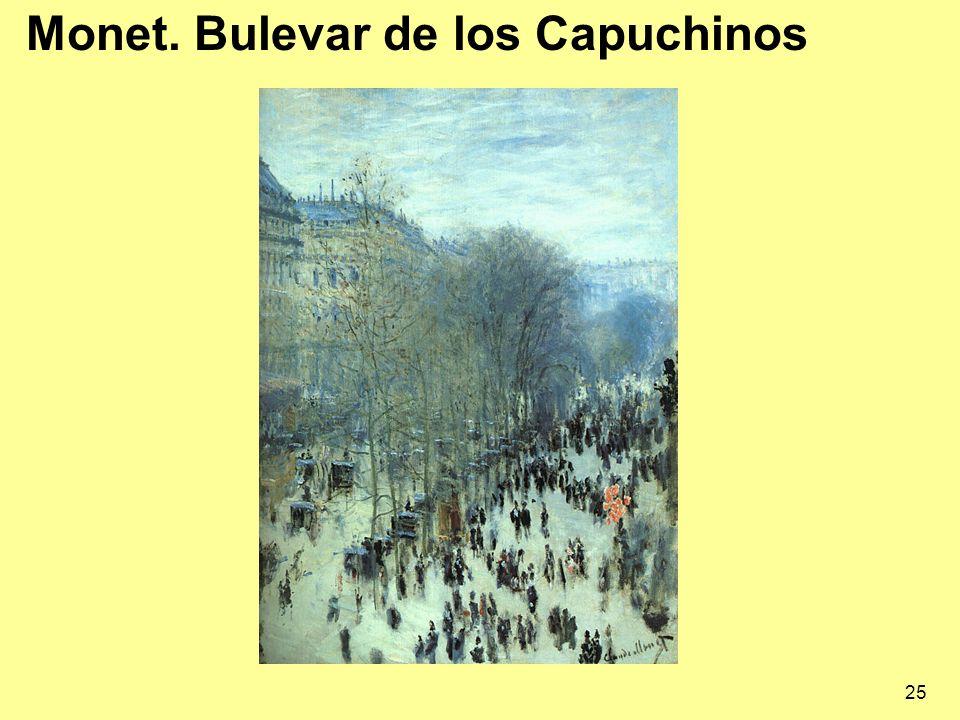 Monet. Bulevar de los Capuchinos
