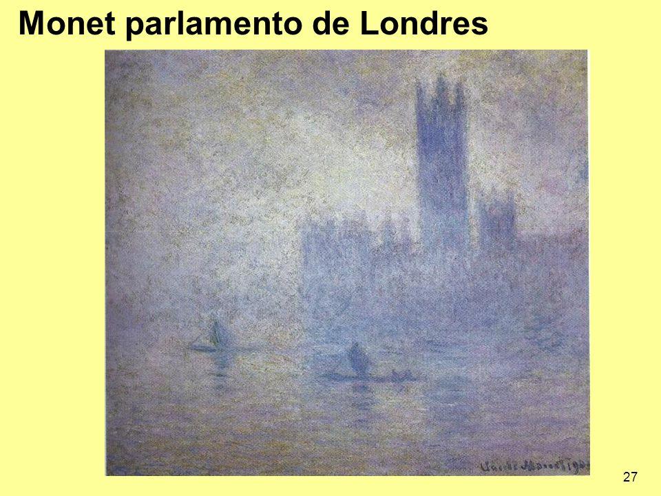 Monet parlamento de Londres