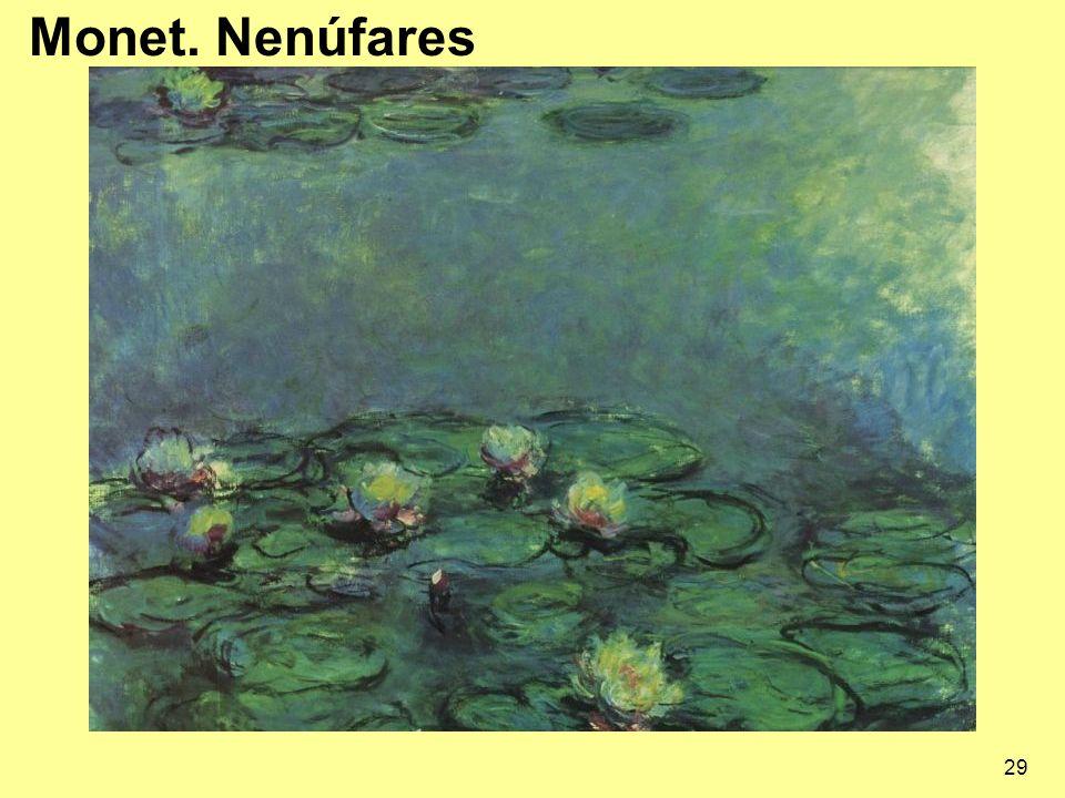 Monet. Nenúfares