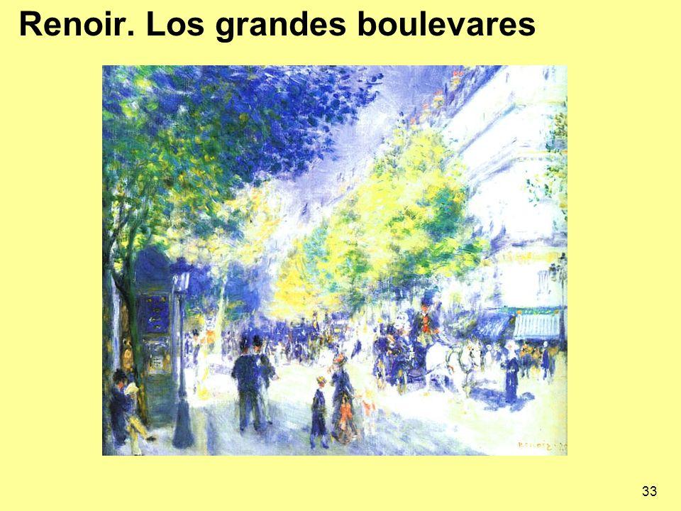 Renoir. Los grandes boulevares