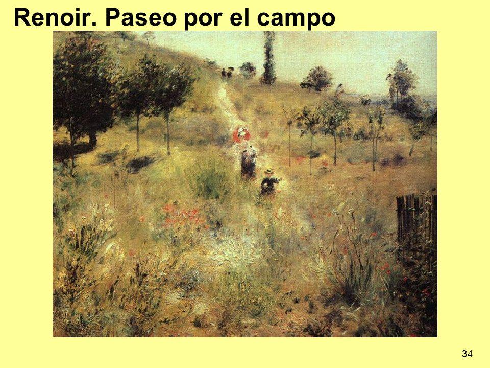 Renoir. Paseo por el campo