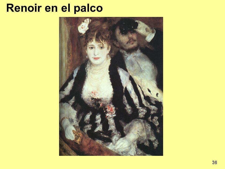 Renoir en el palco