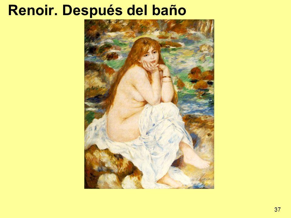 Renoir. Después del baño