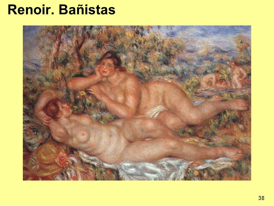 Renoir. Bañistas