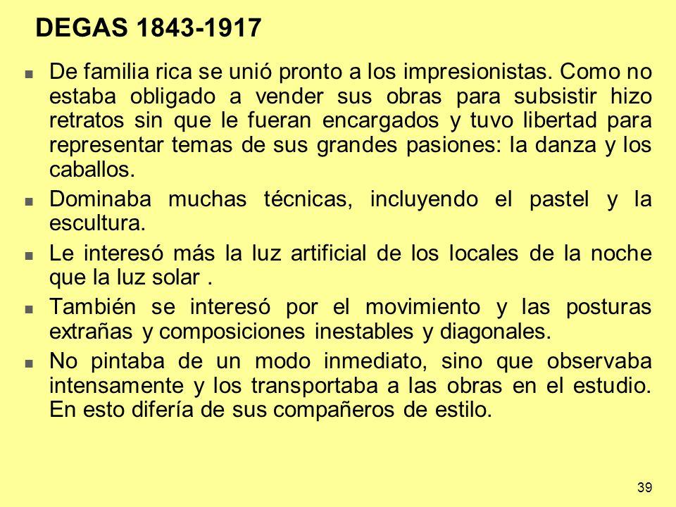 DEGAS 1843-1917