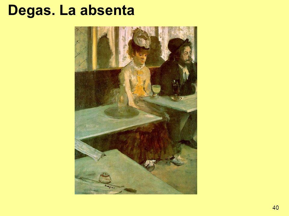 Degas. La absenta