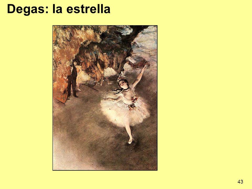 Degas: la estrella
