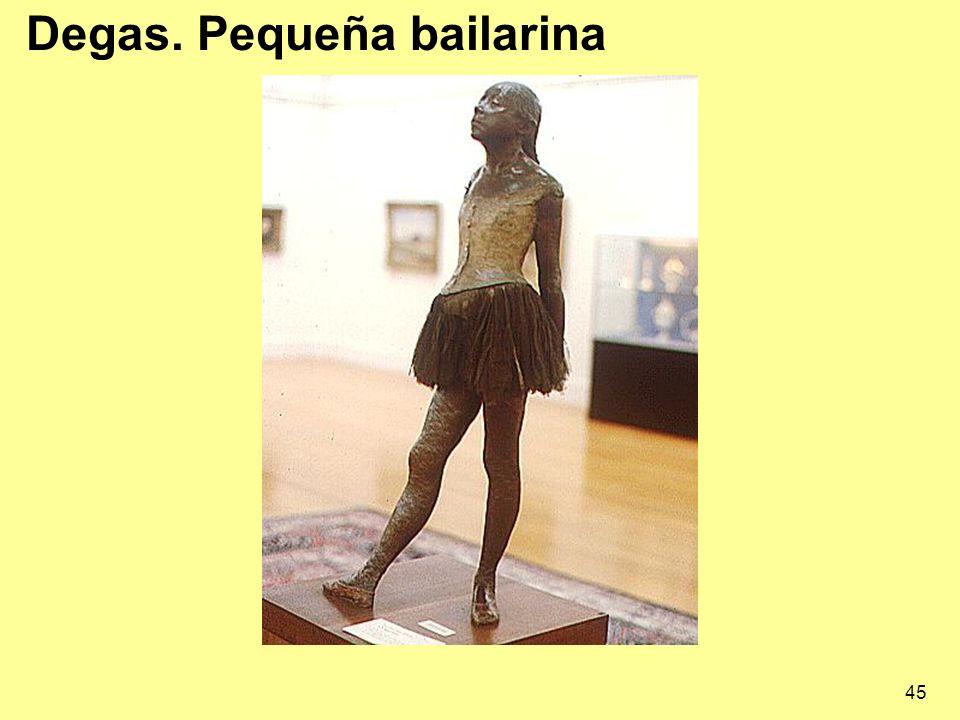 Degas. Pequeña bailarina