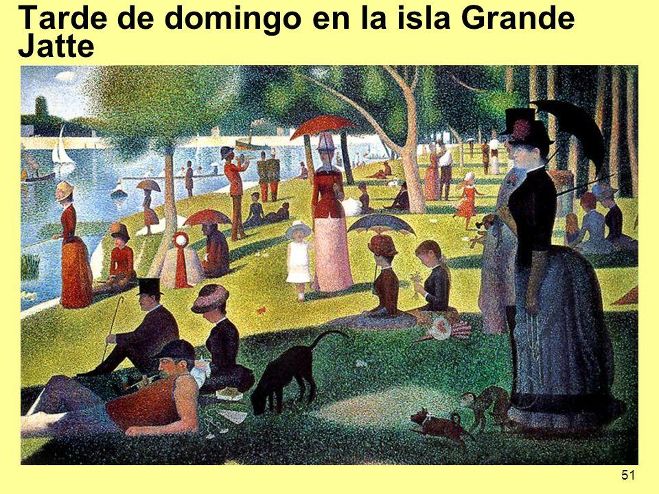 Tarde de domingo en la isla Grande Jatte
