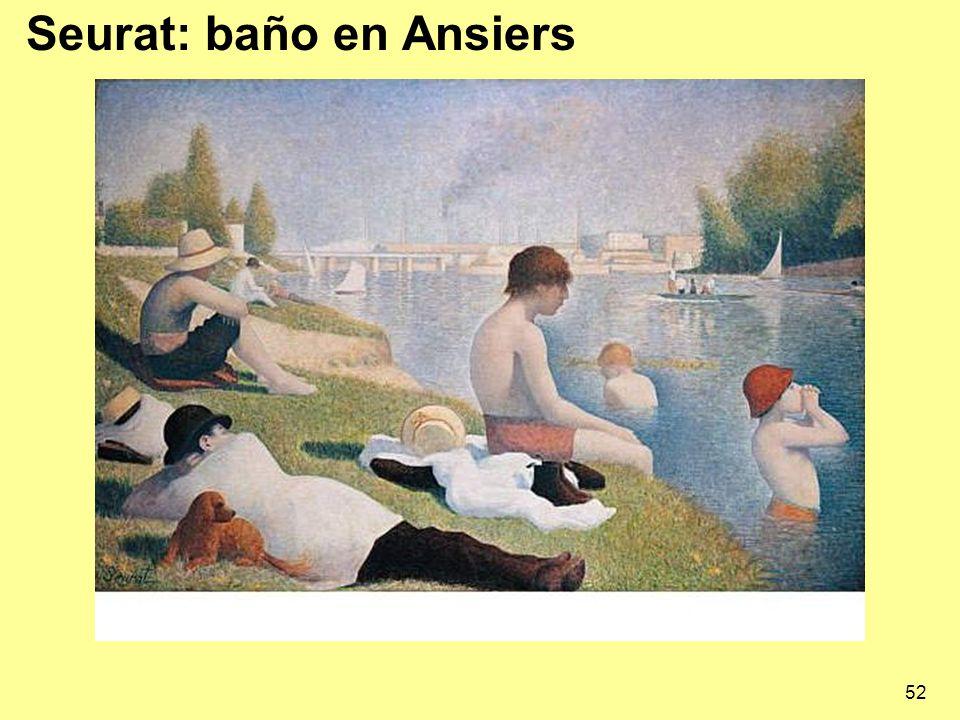 Seurat: baño en Ansiers
