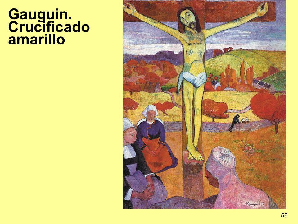 Gauguin. Crucificado amarillo