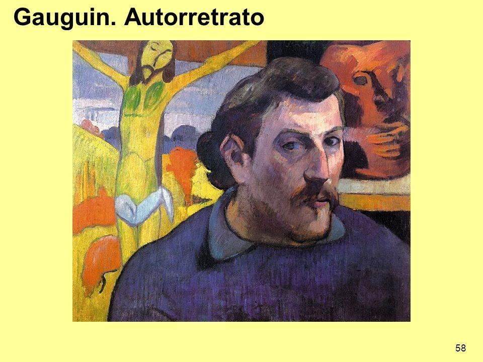Gauguin. Autorretrato