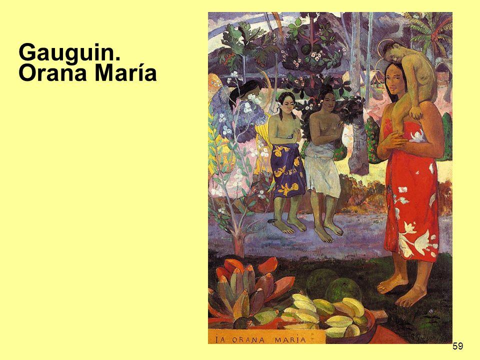 Gauguin. Orana María