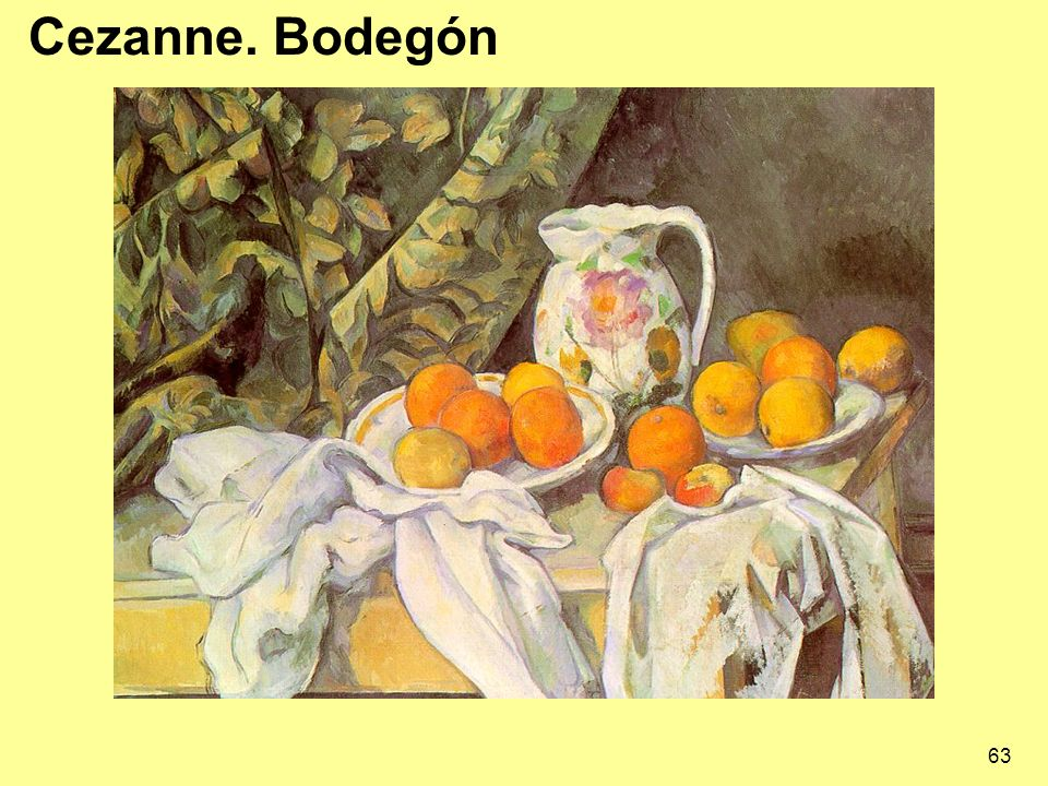 Cezanne. Bodegón